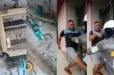 Durante operativo contra la ilegalidad, hombre atacó a patadas a funcionarios de Emcali