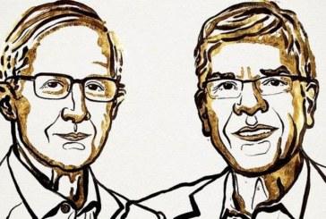 Estadounidenses Nordhaus y Romer ganan el Premio Nobel de Economía 2018