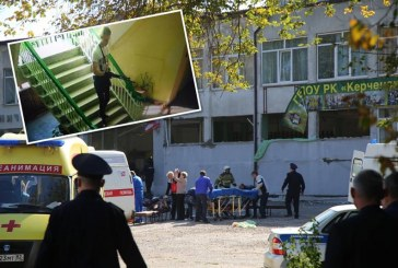Joven mató a 17 estudiantes en colegio de Crimea con una bomba y un fusil