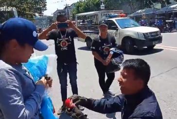 Fingió su muerte para proponerle matrimonio a su novia en Filipinas, esto pasó