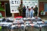 Cárcel a dos hombres que tenían en su poder 451 kilos de marihuana en Cauca