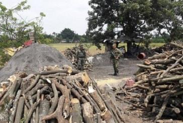 CVC ordenó suspensión de quema de carbón vegetal en sector Piles, Yumbo