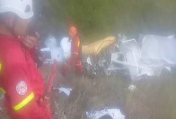 Según Policía Valle, avioneta que colisionó en Yotoco estaba cargaba de cocaína