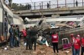 Al menos 10 muertos y unos 90 heridos al descarrilar un tren en Marruecos