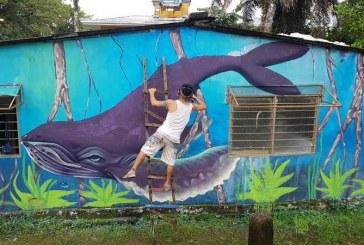 PacifiColor llegó a La Bocana para inundar de arte las viviendas y mejorar el turismo