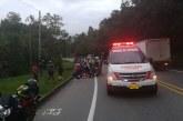 Mujer y su hijo de 5 años mueren en siniestro sobre la vía Panamericana en Cauca