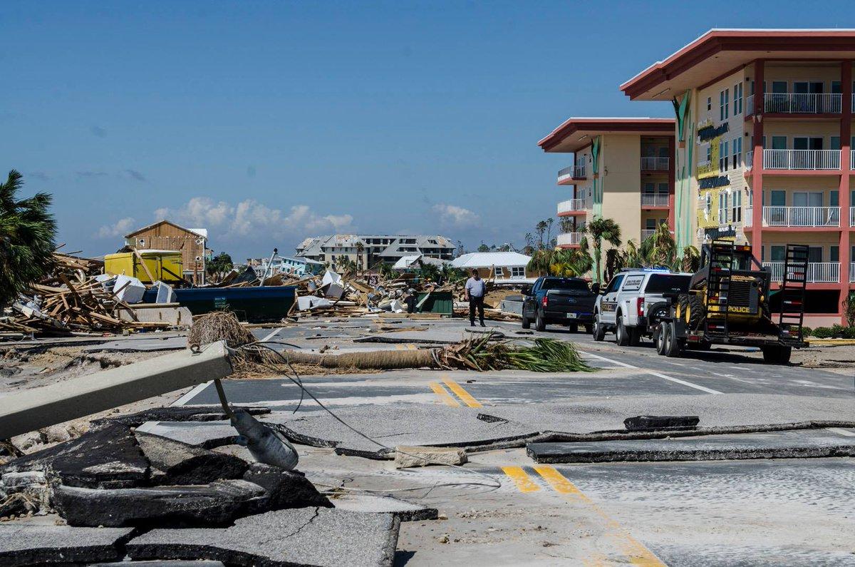 Número de personas muertas en EEUU por huracán Michael asciende a 11