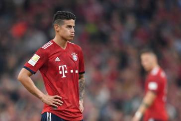 Por votación, James fue elegido como el mejor jugador de marzo en el Bayern