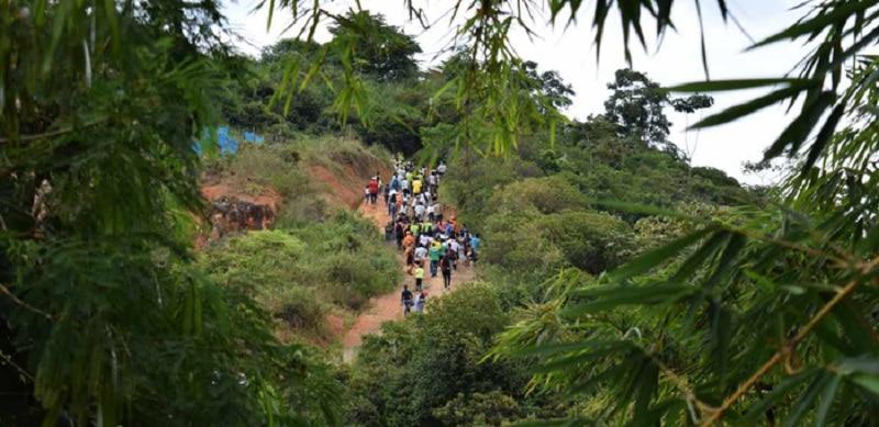 Comunidad denuncia supuestos actos satánicos en el Cerro de La Bandera