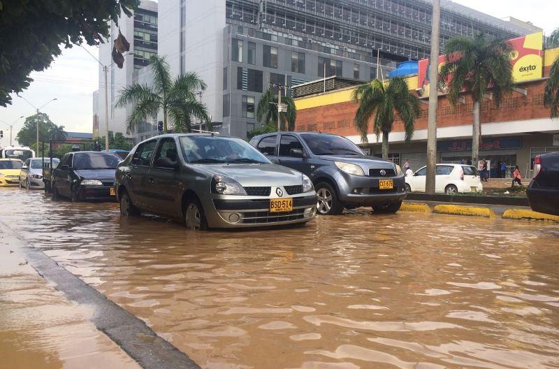 Inició en el Valle primera temporada de lluvias del año e irá hasta junio