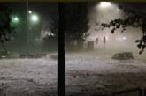 Videos: fuertes lluvias y granizada dejaron a Roma sumida en ríos de Hielo