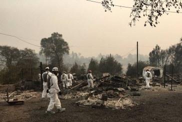 Se aproxima a 60 la cifra de muertos por devastadores incendios de California