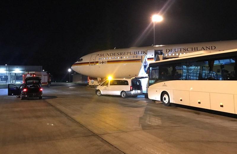 Avión de Merkel sufrió fallo de sistema de comunicación mientras volaba al G20