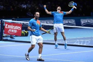 Sebastián Cabal y Robert Farah avanzan a semifinales en Torneo de Maestros