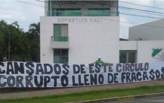 Hinchada azucarera convoca 'Plantón Verde' contra directivos del Deportivo Cali