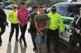 Capturan en Cali a presuntos responsables de múltiple homicidio en El Tarra