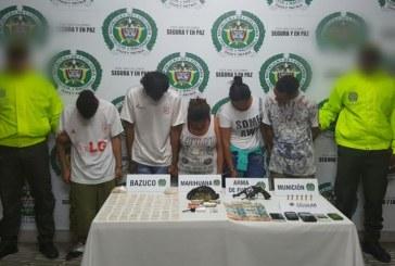 A la cárcel miembros de la banda 'La cueva', dedicada al microtráfico en Buga