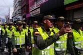 Más de 300 policías reforzarán seguridad del centro de Cali en fiestas decembrinas