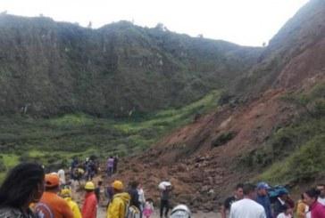 Dos niños murieron tras quedar atrapados en alud de tierra en el Cauca