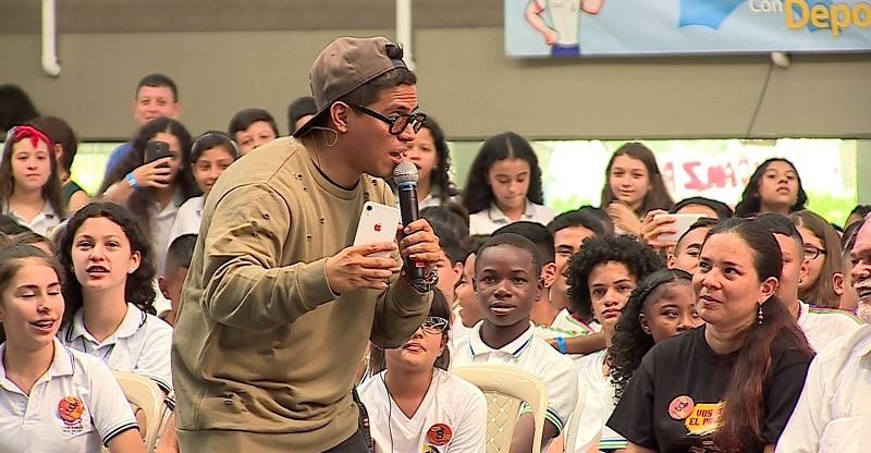 Lanzan 'Vos sos el parche', campaña contra el consumo de drogas en niños de Cali