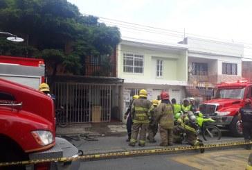 Mal manejo de pólvora almacenada generó explosión en casa del barrio El Rodeo de Cali