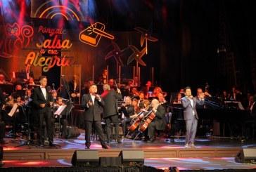 Con clásicos de la salsa se vivió concierto del lanzamiento de la 61 Feria de Cali