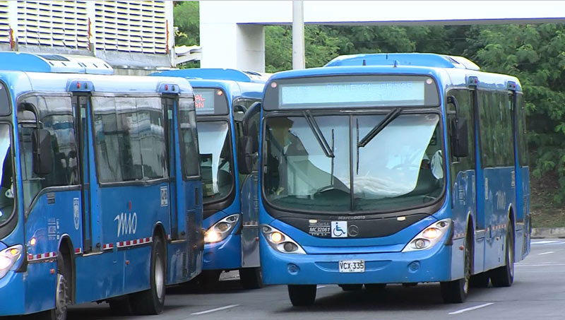 Metrocali anunció que en próximos días restablecerán servicio en varias rutas del Mío