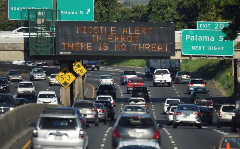 Hawaiano demanda estado tras sufrir ataque cardíaco por falsa alarma de misil