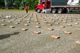 Fueron incautados 327 kilogramos de clorhidrato de cocaína en Valle