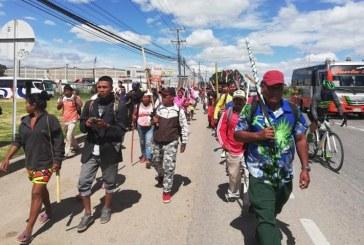 Indígenas del Chocó viajan a Bogotá para denunciar amenazas de grupos armados