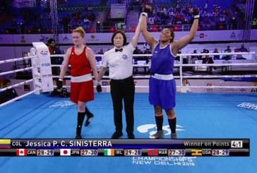 Jessica Caicedo se llevó la medalla de plata en el Mundial de Boxeo