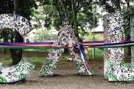 Letras 'CALI' fueron entregadas a la ciudad con intervención que resalta la biodiversidad