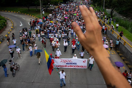 Colombia cerrará sus fronteras por paro nacional de este jueves