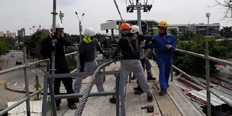 En un 70 por ciento avanzan obras de mantenimiento del Sistema Mío Cable