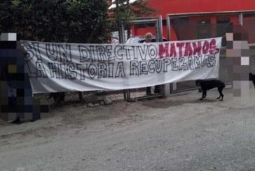 Ubican pancartas amenazantes contra directivos del América en sede Cascajal