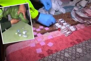 Cae banda de Cali que camuflaba droga sintética en juguetes de superhéroes