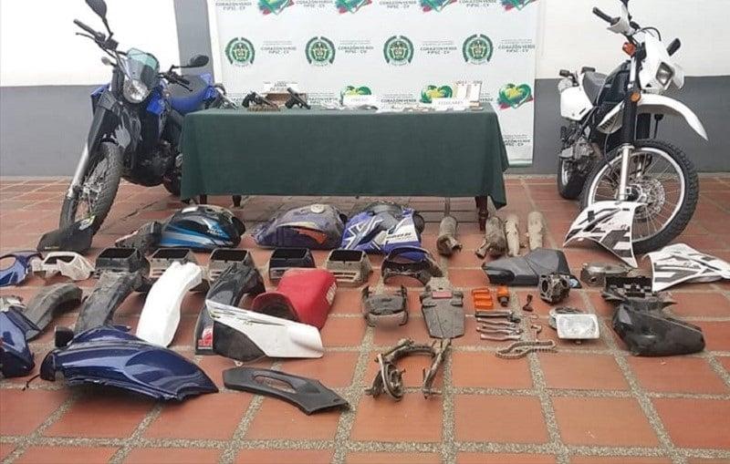Cayó banda 'Los Traviesos', estructura dedicada al hurto de motos en Cali