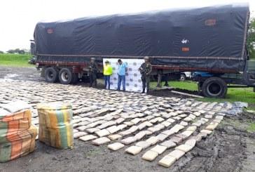 Incautan más de una tonelada de marihuana en vías del Valle del Cauca