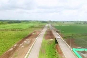 Entrega de 4.4 km de vía Sachamate descongestionará tráfico en vía Cali – Jamundí