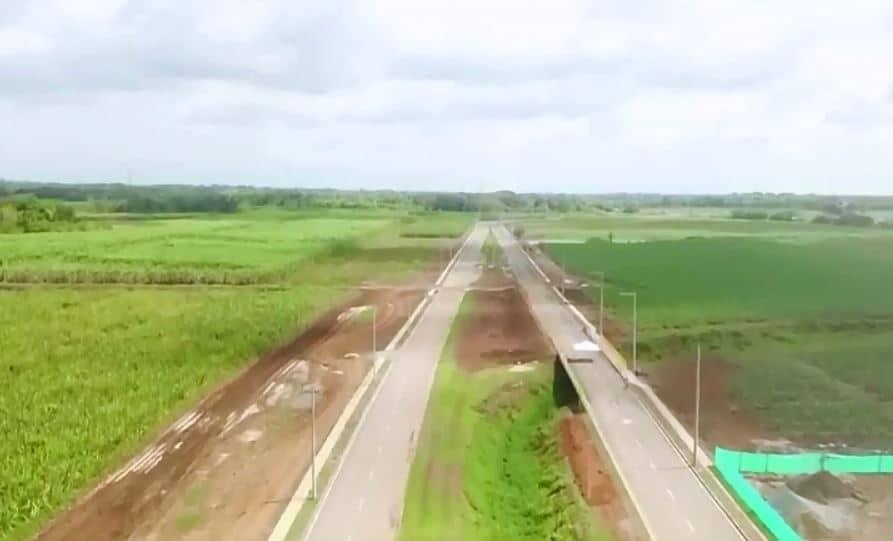 Entrega de 4.4 km de vía Sachamate descongestionará tráfico en vía Cali - Jamundí