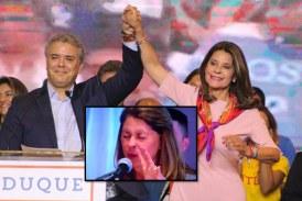 La 'cara de terror' de la Vicepresidenta tras confundir a Iván Duque con Uribe