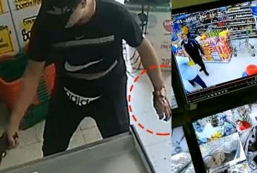 Video: así fue el seguimiento a presunto homicida en supermercado de Alcázares