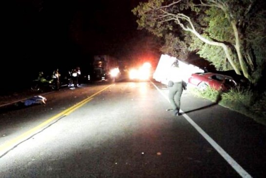 Un muerto y cinco heridos dejó aparatoso accidente en vía Yotoco – Mediacanoa, Valle