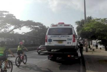 Inmovilizan ambulancia 'pirata' con 11 pasajeros, en el sur de Cali