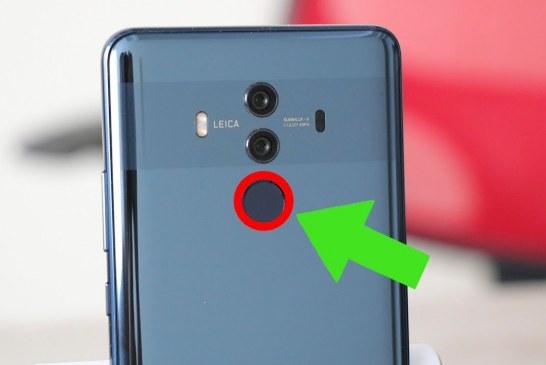 Nuevas funciones sensor de huella Android