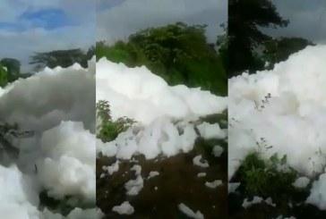 CVC respondió a video viral en redes sobre presencia de espuma en río del Valle