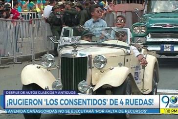 Lo que pasó en el tercer día de la Feria con el Desfile de Autos Clásicos y Antiguos