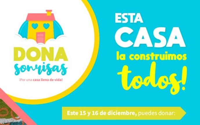 Con gran donatón, Fundación Carlos Portela busca construir hogar para niños con cáncer