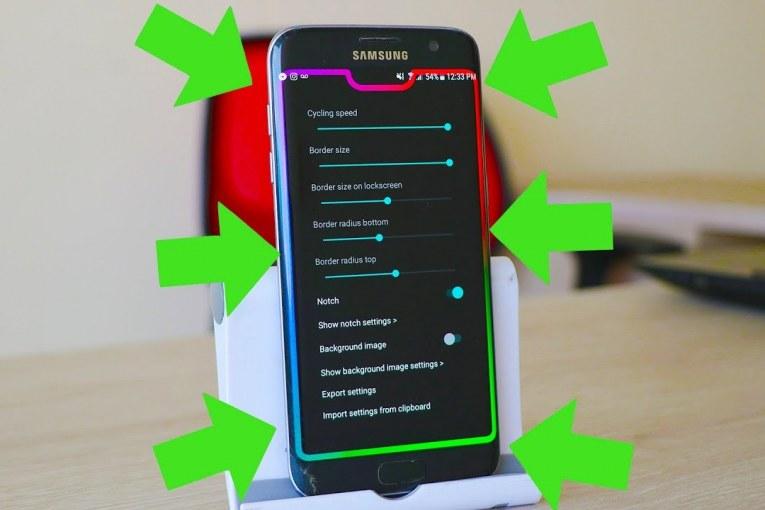 Increíble efecto de pantalla para el celular