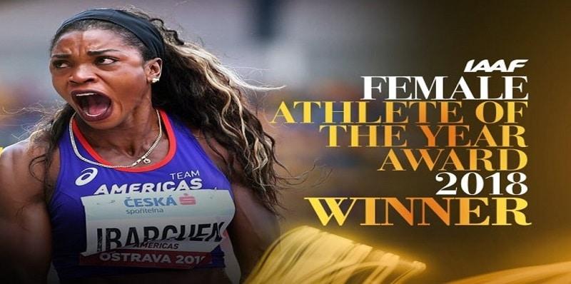 ¡Orgullo colombiano! Caterine Ibargüen es nombrada mejor atleta del año